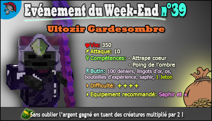 Evénement de Week-end n°39, Grand chef Ultozir Gardesombre